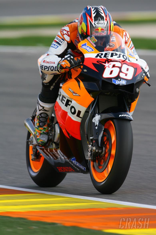 Hayden, Valencia MotoGP 2006