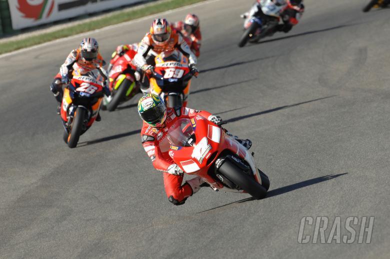 , - Bayliss leads Hayden, Pedrosa, Valencia MotoGP Race 2006