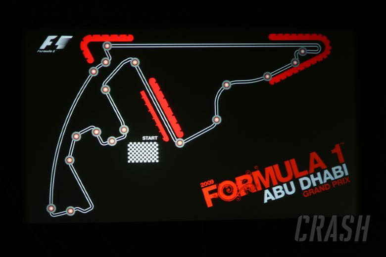 The circuit that will be used Abu Dhabi, UAE, from 2009 for seven years.