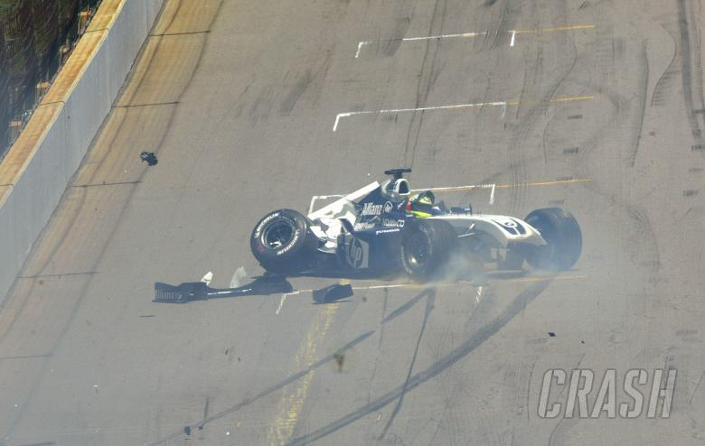 Ralf Schumacher, BMW Williams F1 accident