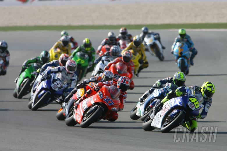 Start, Qatar MotoGP Race 2007