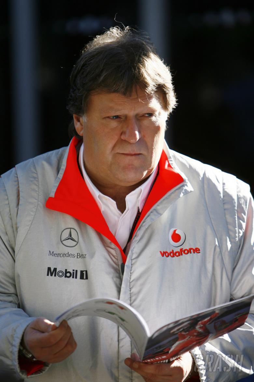 Norbert Haug (GER) Mercedes, Australian F1 Grand Prix, Albert Park, Melbourne, 16-18/3/ 2007,