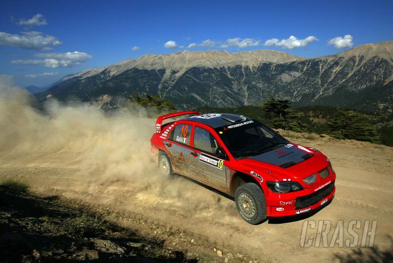 Gianluigi Galli / Guido d` Amore - Mitsubishi Lancer WRC04