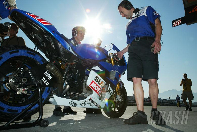 Suzuki Mechanics, Rio MotoGP, 2004