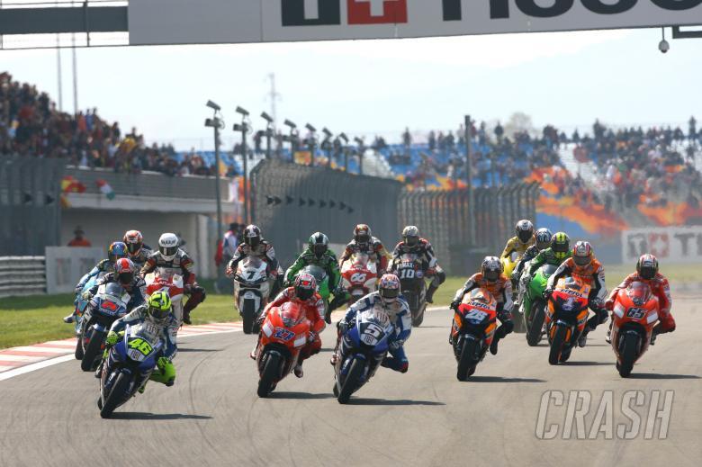 Start, Turkish MotoGP 2007