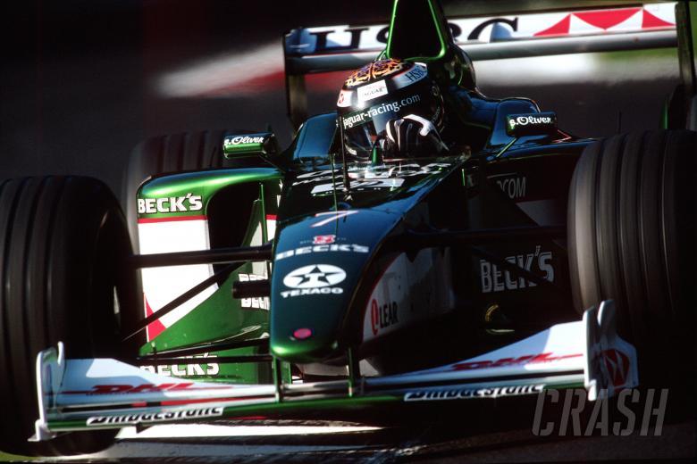 2000 Formula One World Championship. Eddie Irvine (GB), Jaguar Racing R1. Italian Grand Prix, Monz