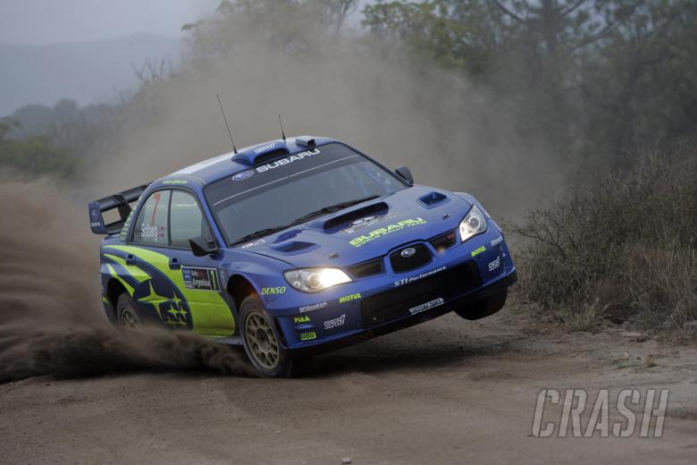 , - Petter Solberg (NOR) / Phil Mills (GBR), Subaru WRT Impreza WRC 2007. Rally Argentina, May 3-6 2007.