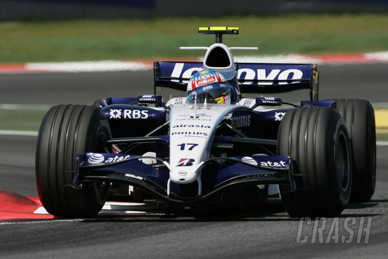 , - Alex Wurz (AUT) Williams FW29, Spanish F1 Grand Prix, Catalunya, 11-13th, May 2007