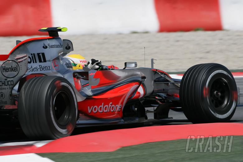 Lewis Hamilton (GBR) McLaren MP4/22, Spanish F1 Grand Prix, Catalunya, 11-13th, May 2007