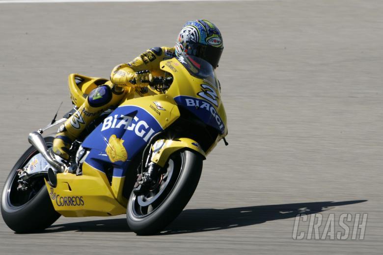 Biaggi, German MotoGP 2004