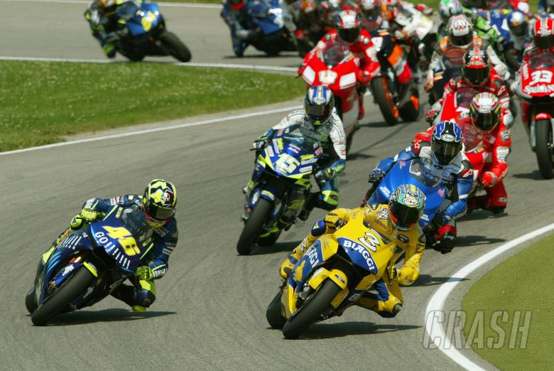 Start, German MotoGP Race, 2004