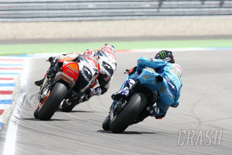 , - Hopkins, Pedrosa, Hayden, Dutch MotoGP Race 2007