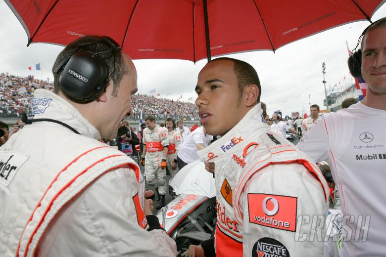 Lewis Hamilton (GBR) McLaren MP4/22, France F1, Magny Cours, 29th June-1st July, 2007
