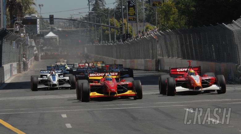Champ Car World Series. 27-29 July 2007. San Jose Grand Prix. San Jose, California. Start of grand p