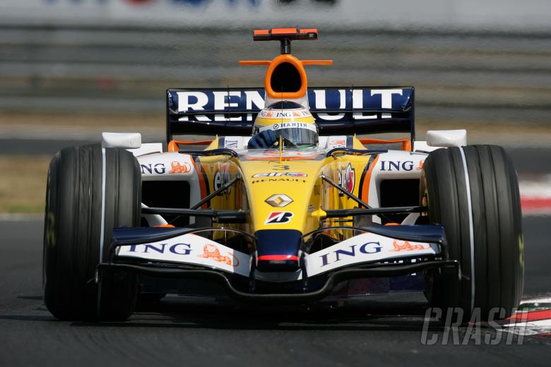 Giancarlo Fisichella (ITA) Renault RS27, Hungarian F1, Hungaroring, 3rd-5th, August, 2007