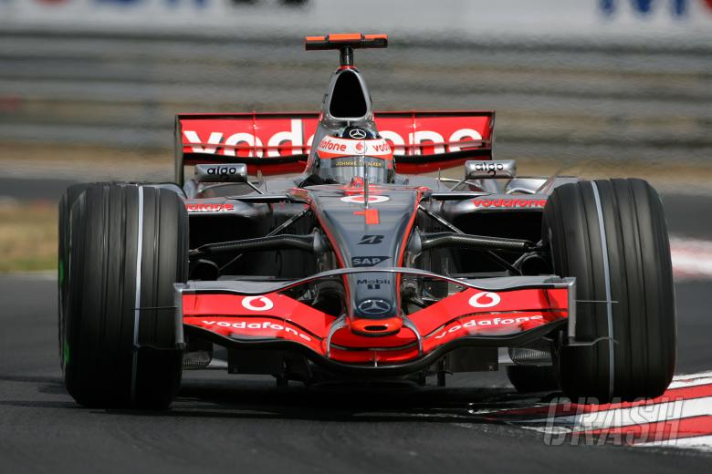 Fernando Alonso (ESP) McLaren MP4/22, Hungarian F1, Hungaroring, 3rd-5th, August, 2007