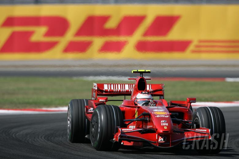 Kimi Raikkonen (FIN) Ferrari F2007, Turkish F1, Istanbul Park, 24th-26th August, 2007
