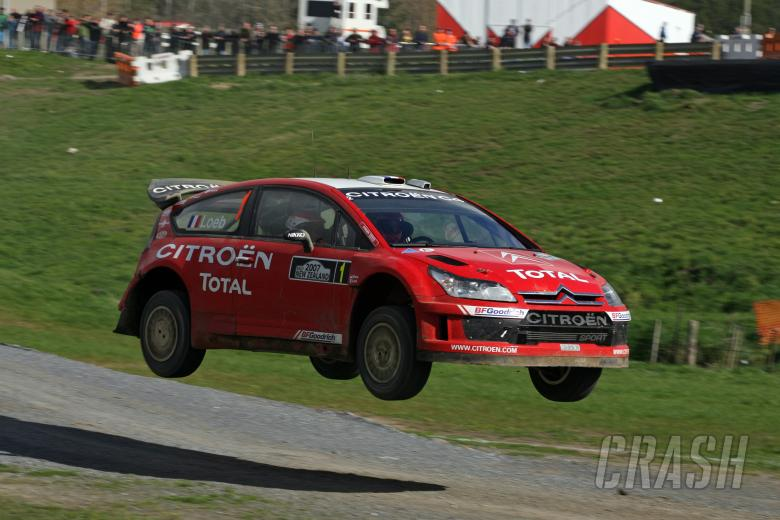 Sebastien Loeb (FRA) / Daniel Elena (MC), Citroen Total WRT C4 WRC. Rally New Zealand. 31st August -