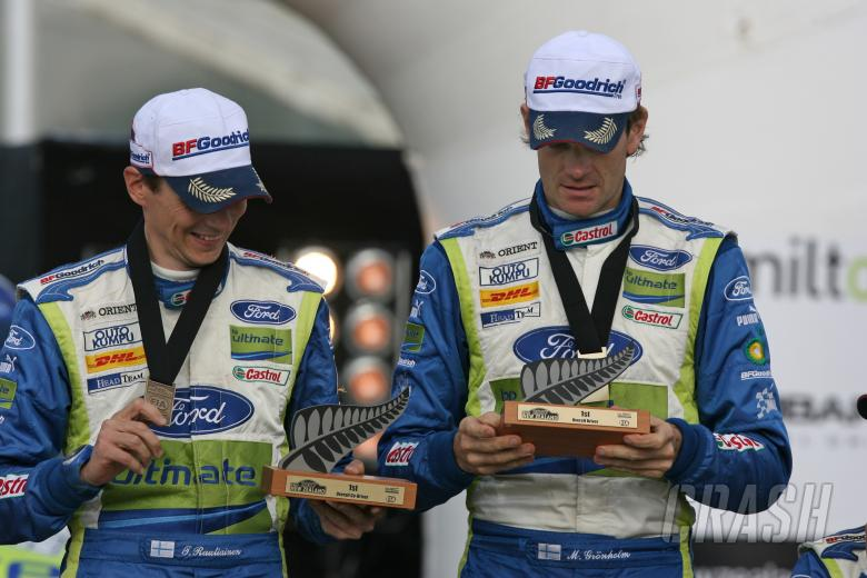 , - Marcus Gronholm (FIN) / Timo Rautiainen (FIN), BP Ford Focus RS WRC 07. Rally New Zealand. 31st Augu