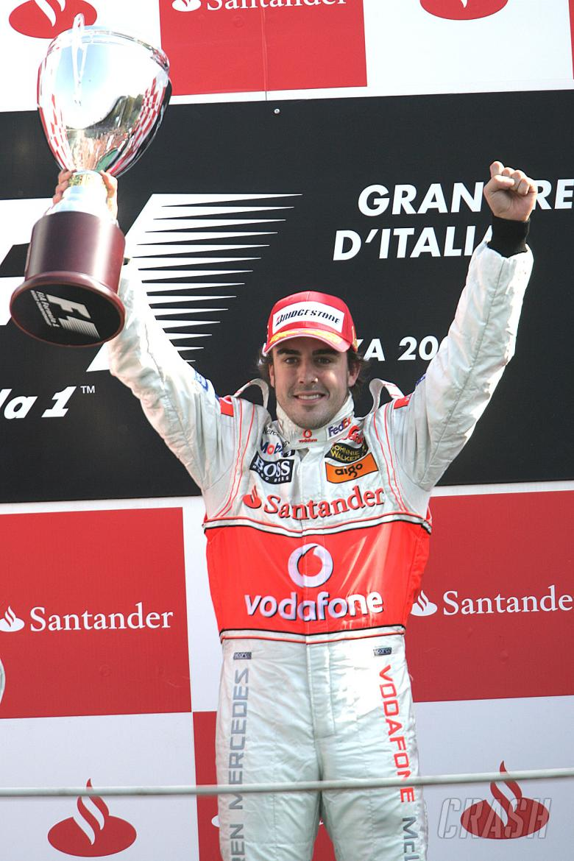 , - Fernando Alonso (ESP) McLaren MP4/22, Italian F1, Monza, 7-9th, September 2007