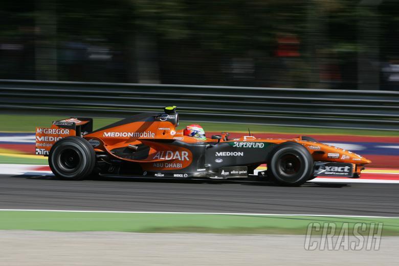 Sakon Yamamoto (JPN), Etihad Aldar Spyker Formula One Team F8-V11, Italian F1, Monza, 7-9th, Septemb