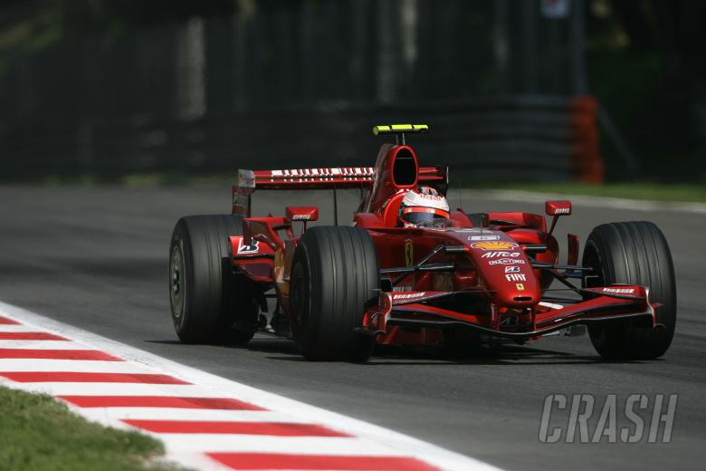 Kimi Raikkonen (FIN) Ferrari F2007, Italian F1, Monza, 7-9th, September 2007