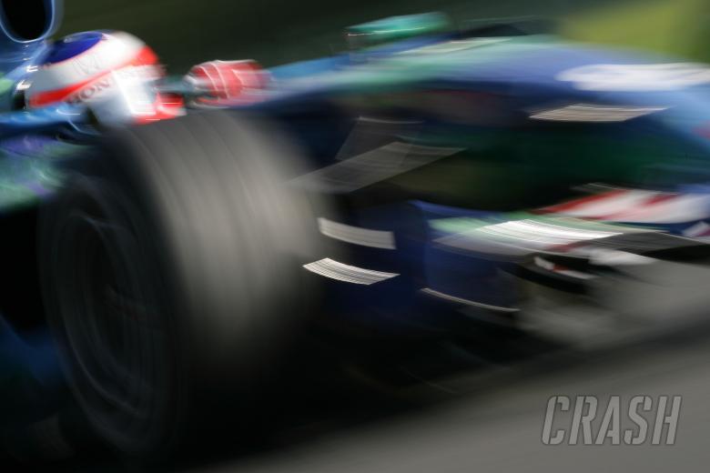 Rubens Barrichello (BRA) Honda RA107, Belgian F1, Spa, 14-16th, September 2007