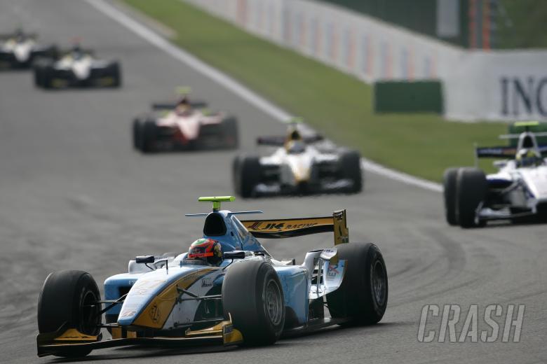 Karun Chandhok (IND), Durango, Belgian GP2 Race 2, Spa, 14th-16th, September, 2007