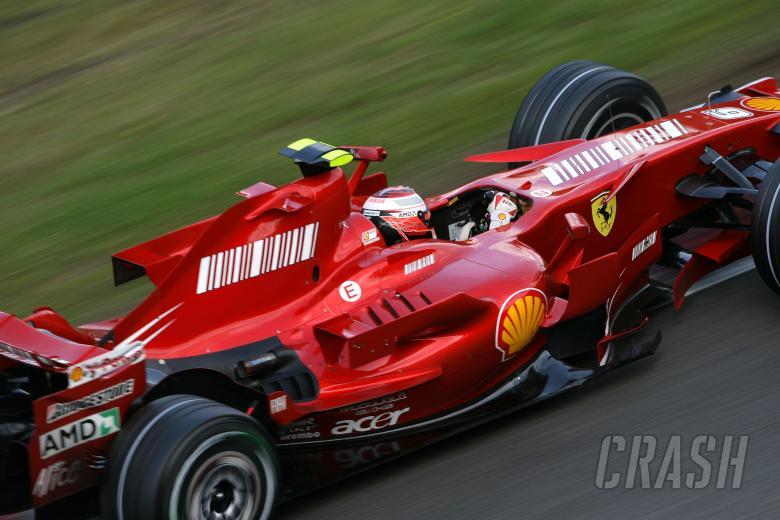 Kimi Raikkonen (FIN) Ferrari F2007, Belgian F1, Spa, 14-16th, September 2007