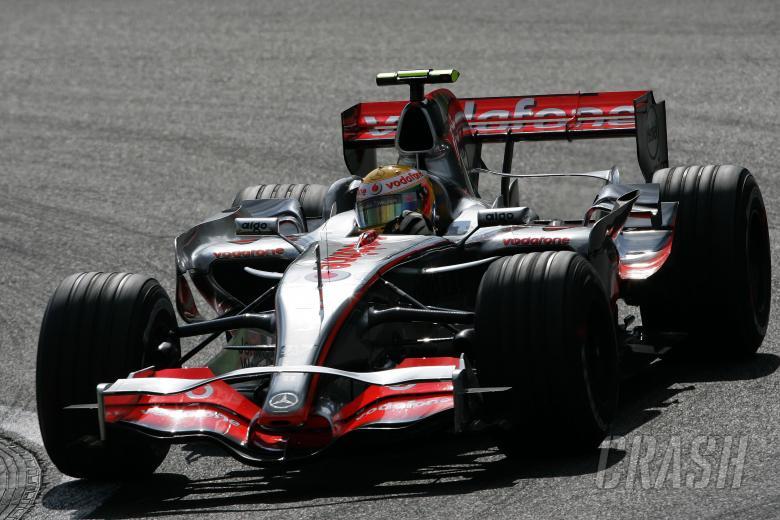 Lewis Hamilton (GBR) McLaren MP4/22, Belgian F1, Spa, 14-16th, September 2007