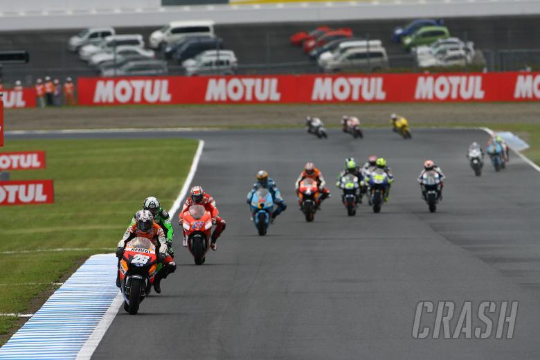 Pedrosa, Japanese MotoGP Race 2007