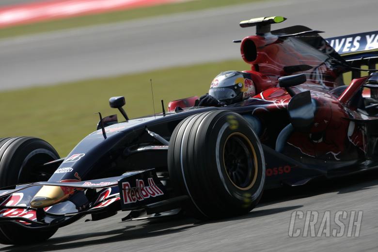 Sebastian Vettel (GER) Toro Rosso STR02, China F1, Shanghai, 5-7th, October 2007