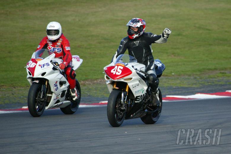 , - Glen Richards (AUS), Embassy Racing, Yamaha, YZF-R1, 45, Superstock Championship