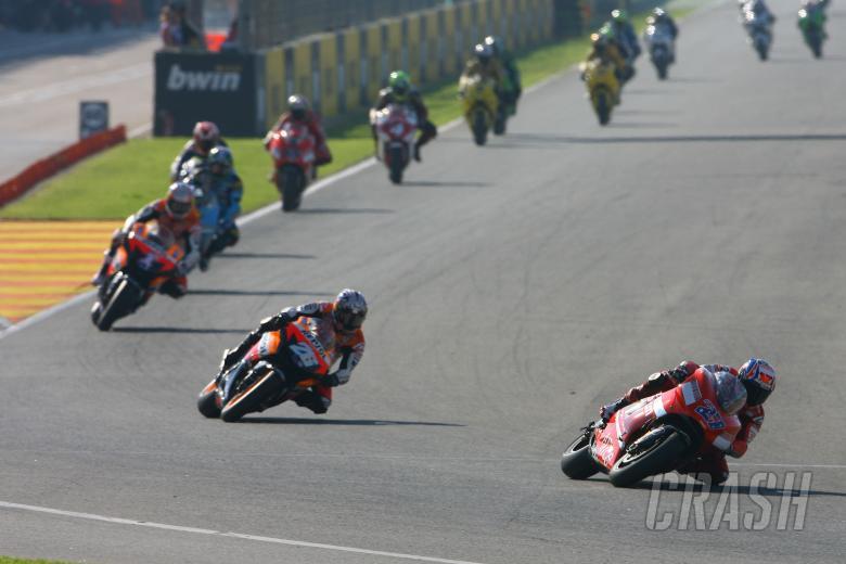 Stoner, Valencia MotoGP Race 2007