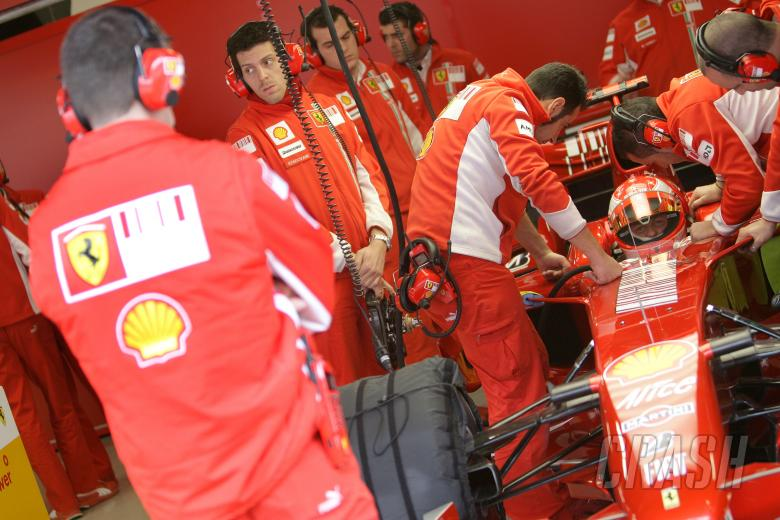 Michael Schumacher (GER) Ferrari F2007, Barcelona F1 Test, 13-15th, November, 2007