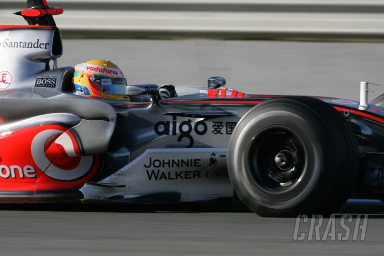 Lewis Hamilton (GBR) McLaren MP4/22, Jerez F1 Test, 4-7th, December, 2007