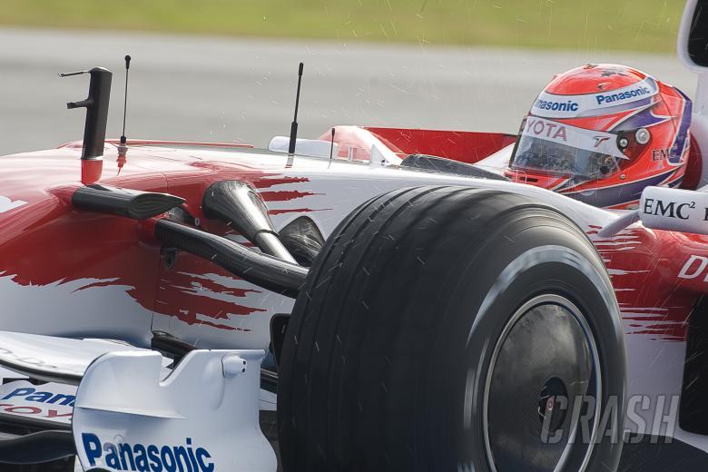 , - Kamui Kobayashi (JAP), Toyota TF108, F1 Testing, Jerez (ESP), January 16th 2008