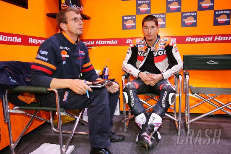 Hayden, Qatar MotoGP 2008