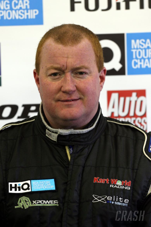 Jason Hughes (GBR) Team Kartworld MG