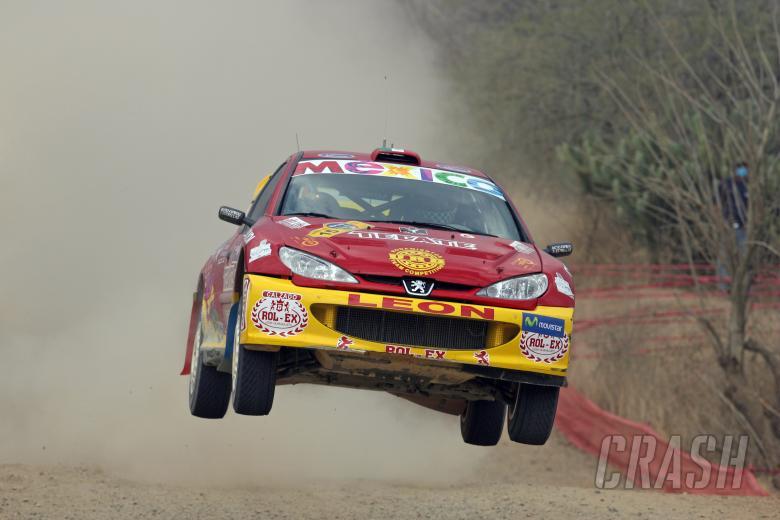 , - Ricardo Trivino (MEX) / Checo Salom (E), Peugeot 206 WRC
