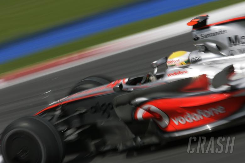 Lewis Hamilton (GBR) McLaren MP4-23, Malaysian F1 Grand Prix, Sepang, Kuala Lumpar, 21st-23rd, March
