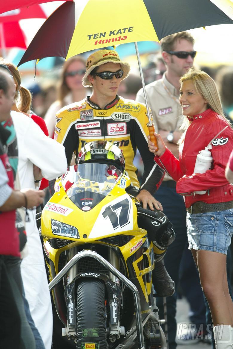 Vermeulen, Magny Cours Race 2 WSBK, 2004