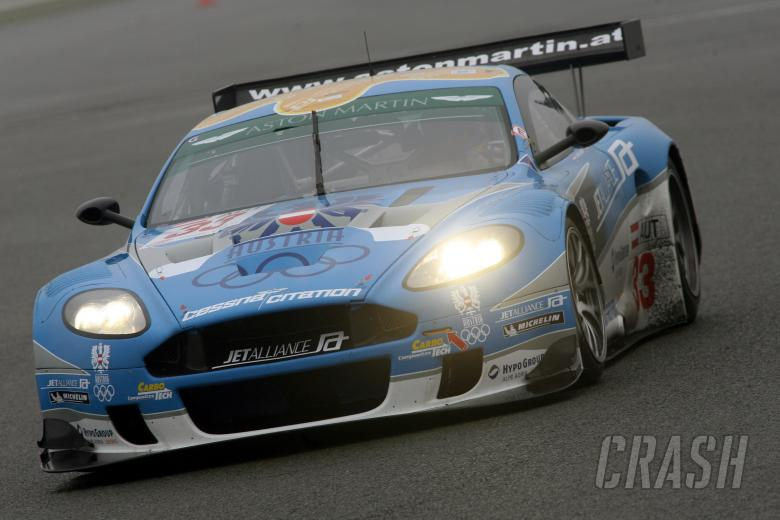 , - Ryan Sharp/Karl Wendlinger Aston Martin