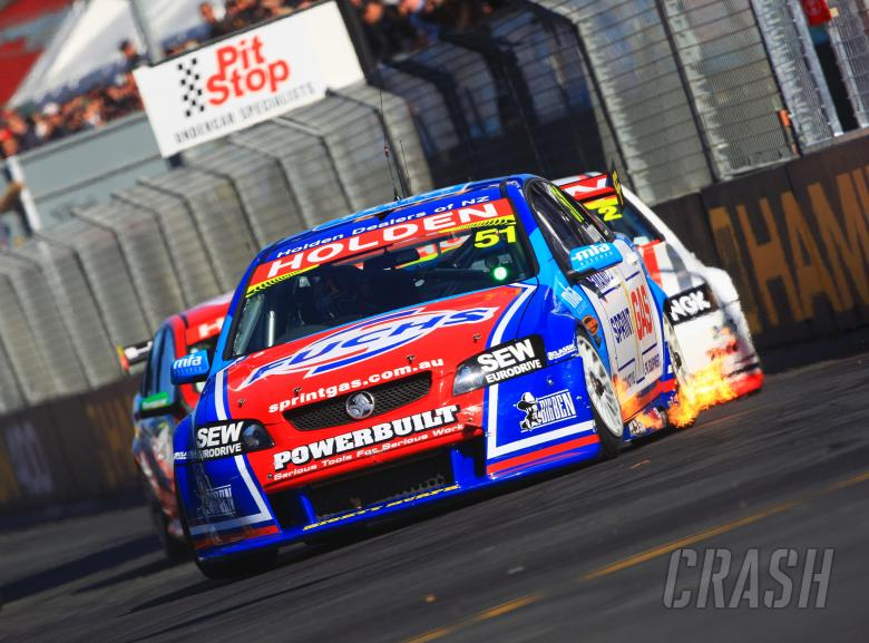 Greg Murphy (nz) Sprint Gas Commodore V8 SupercarsRd3 Hamilton 400NZ