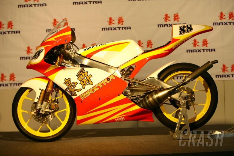 Maxtra launch, Chinese MotoGP 2008