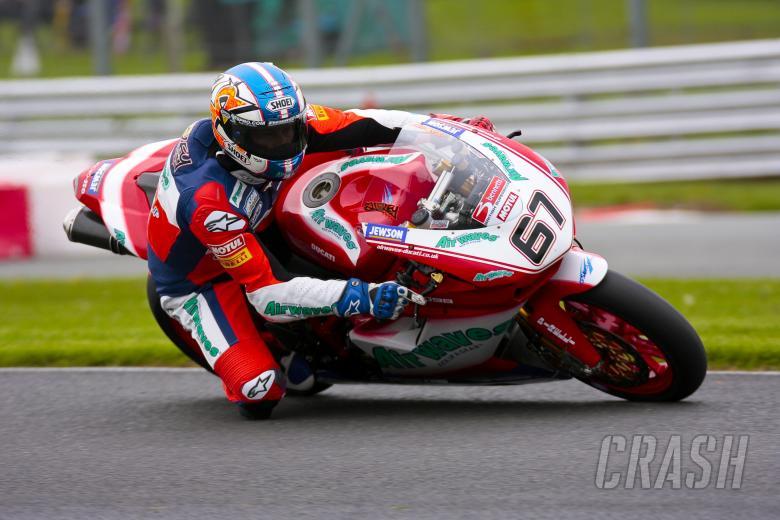 Monday warm up. 67. Shane Byrne Airwaves Ducati