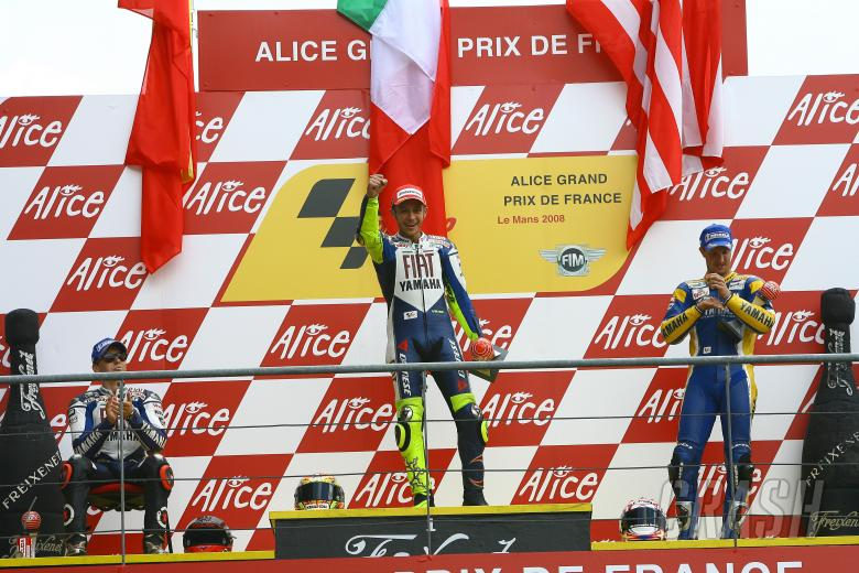 , - Lorenzo, Rossi, Edwards, French MotoGP 2008