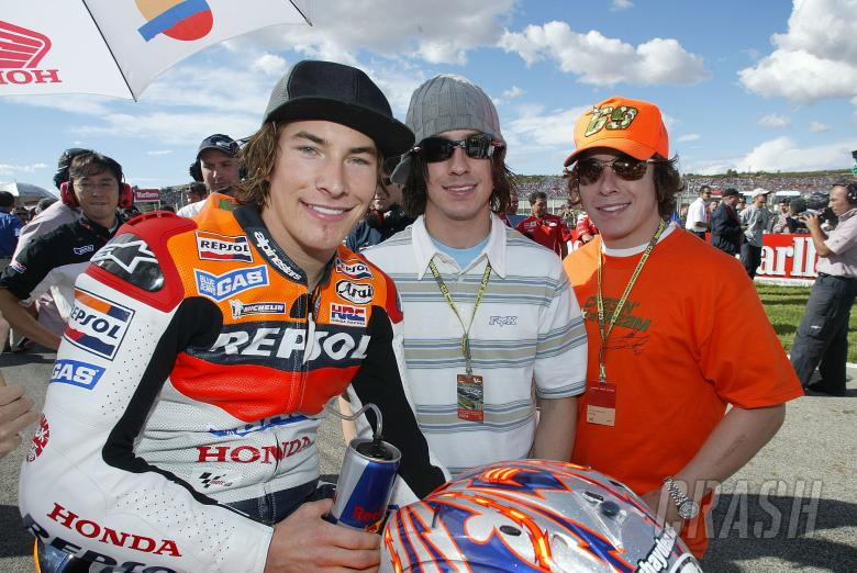 , - Nicky, Tommy and Roger-Lee Hayden, Valencia MotoGP Race, 2004