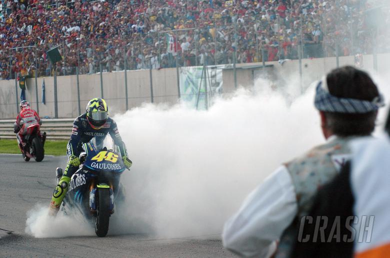Rossi, Valencia MotoGP Race 2004