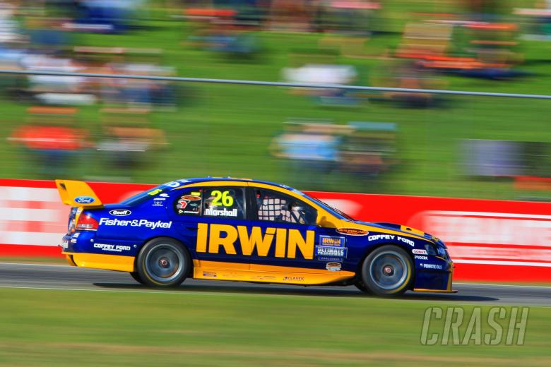 , - Marcus Marshall, (Aust) Irwin Tools Ford won all three races to win the roundBigpond 400 rd 4 V8 Su
